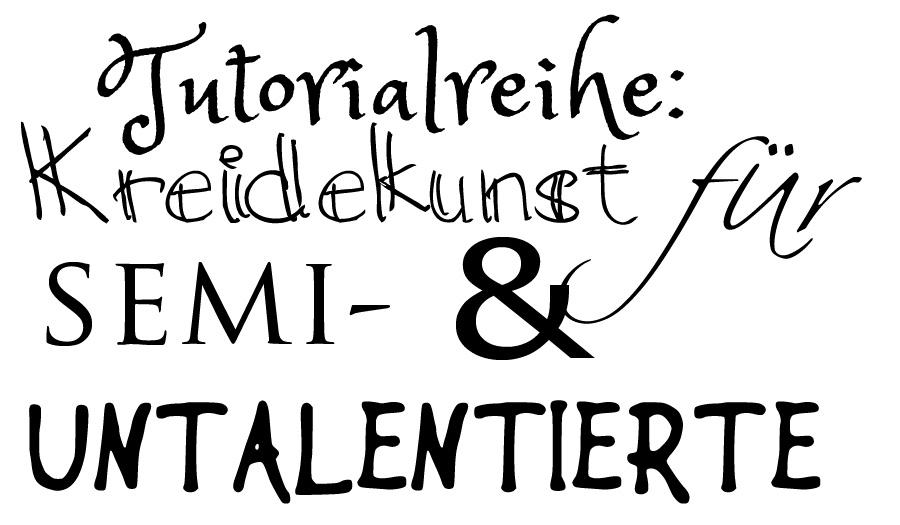 Chalkboard-Tutorial: Schrift