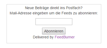 Alte Feed Box