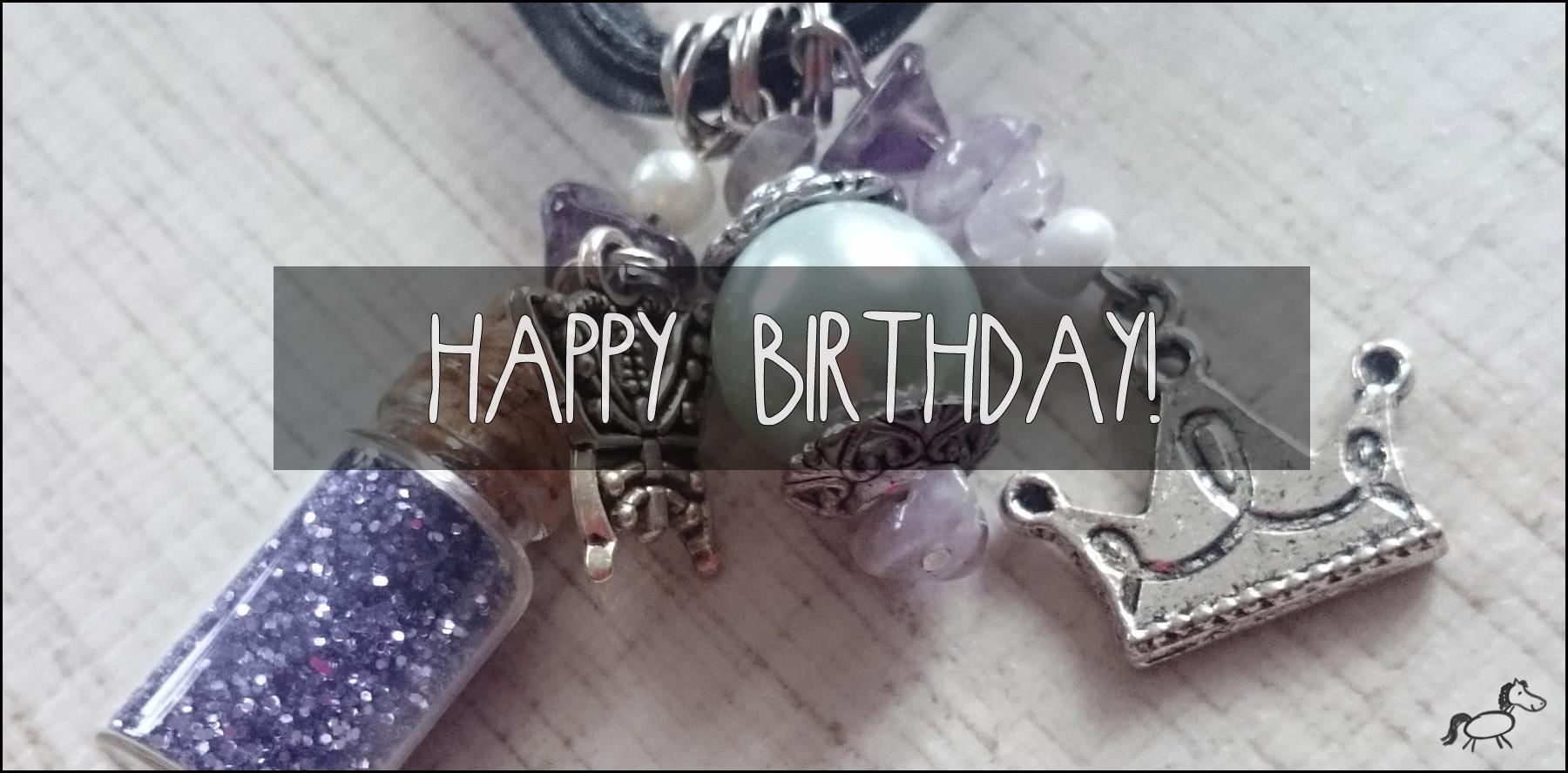 Chaospony-Kette zum Blog-Geburtstag