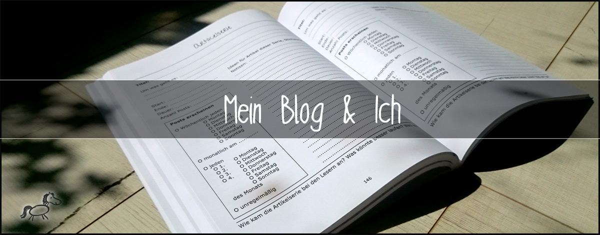 Blog-Planer Mein Blog & Ich